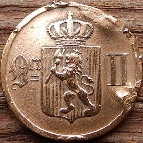 2 Эре, 1899 года, Норвегия, Монета, Монеты, 2 Ore 1899, Norge, Рослинний орнамент,растительный орнамент,floral ornament на монете,Корона, Crown, Fauna, Фауна, Лев, Lionна монете.