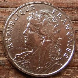 25 Сантимов, 1903 года, Франция,Монета, Монеты, 25 Centimes 1903,RepubliqueFrancaise, France,Girl,Девушкана монете.