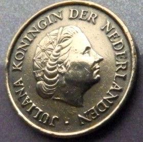 5 Центов, 1952 года, Нидерланды, Монета, Монеты, 5Сents 1952, NEDERLAND,Королева Юлианана монете.