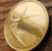 2 Толара, 1994года,Словения,Монета, Монеты,2 Dva Tolarja 1994, Republika Slovenija,Fauna, Фауна, Пташка, Bird, Птица, Ластівка, Swallow, Ласточкана монете.