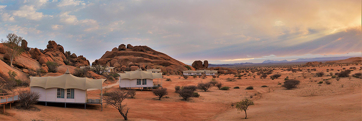 Spitzkoppen Lodge, Namibia