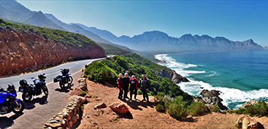 7 Days Garden Route and Route 62 Motorcycle Tour