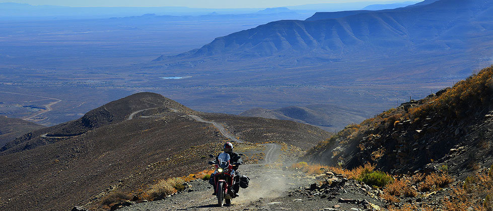 Honda Africa Twin Rentals and Tours