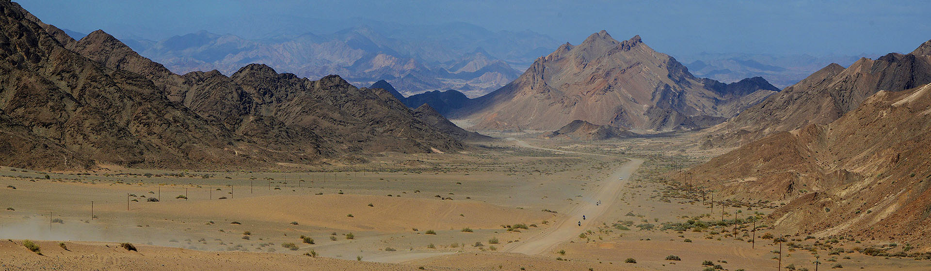 Triumph Motorcycle Tours in Namibia