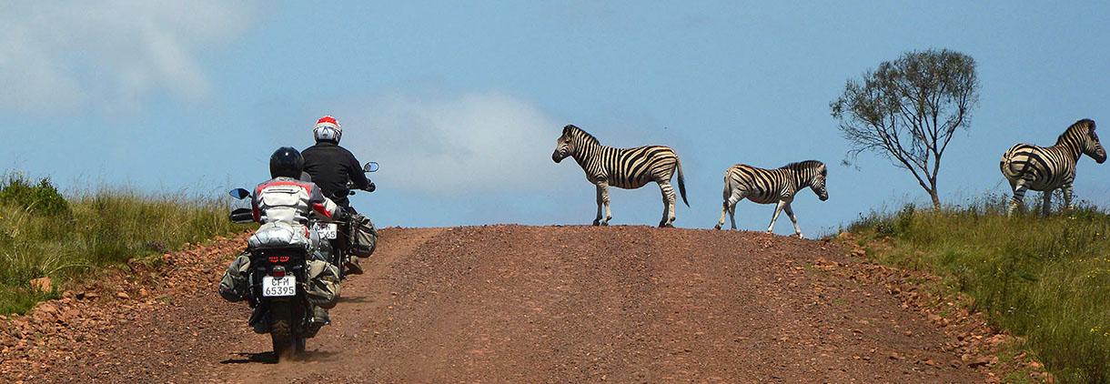 Motorradtouren im südlichen Afrika