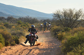 Honda Africa Twin Rentals and Tours in South Africa