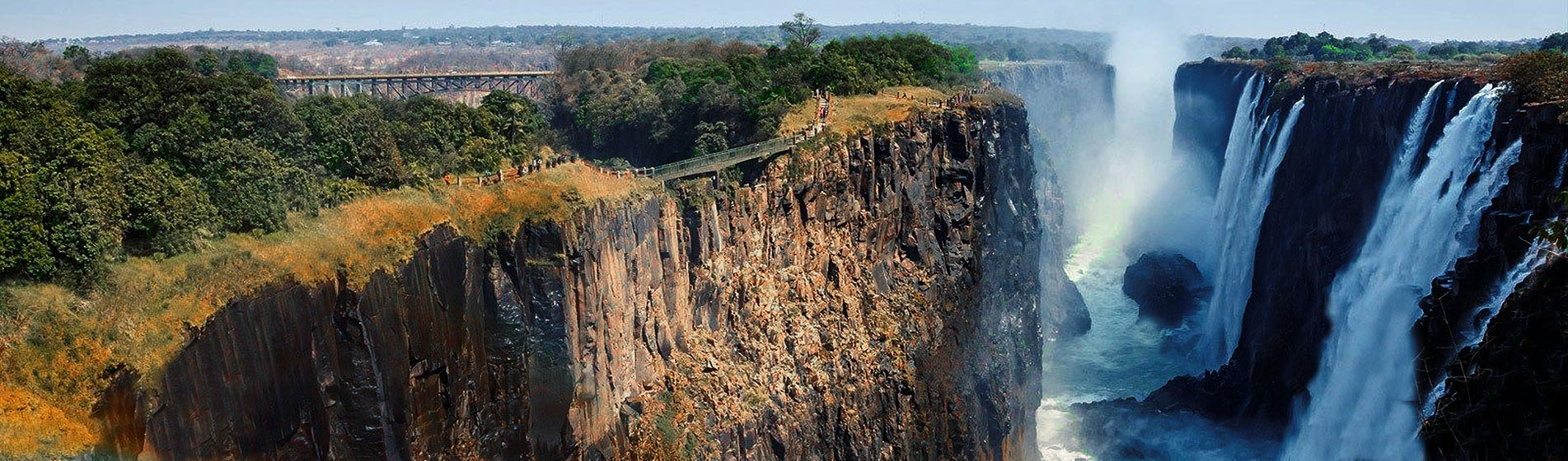Vic Falls, from Zambia Side