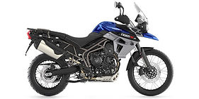 Triumph Tiger 800XCx Rentals in Cape Town