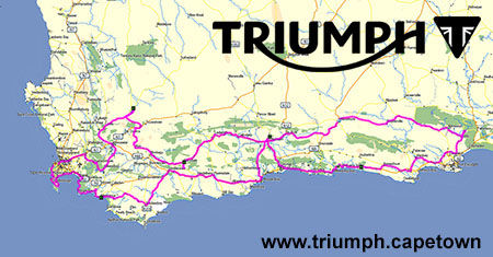 9 Day Triumph Motorcycle Tour including BIG 5 Game