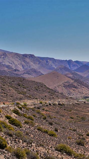 Kareedouwberg Pass, R407