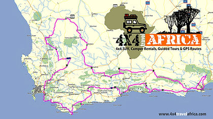 4x4 Self-Guided Tour in South Africa
