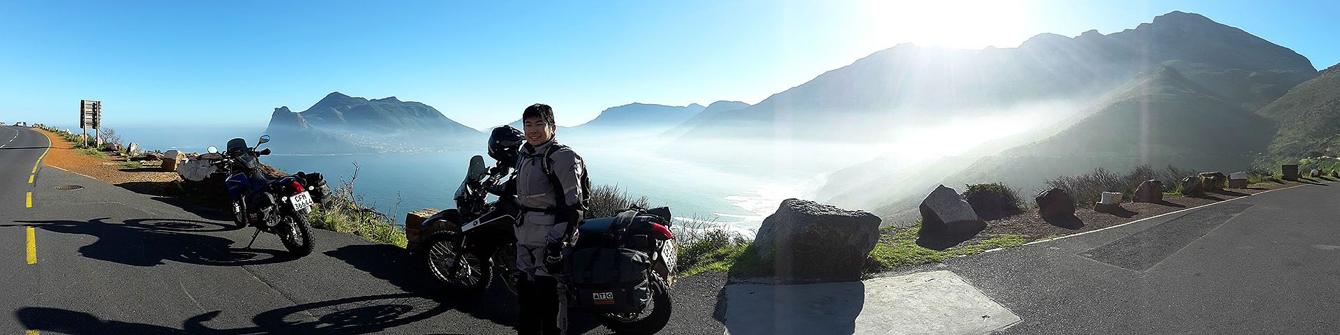 Chapmans Peak and Hout Bay