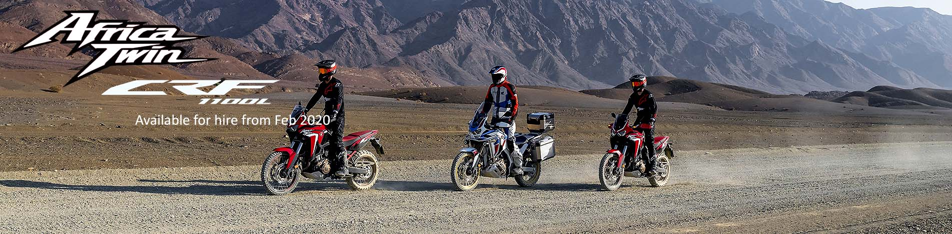 Honda CRF 1100L Africa Twin for hire