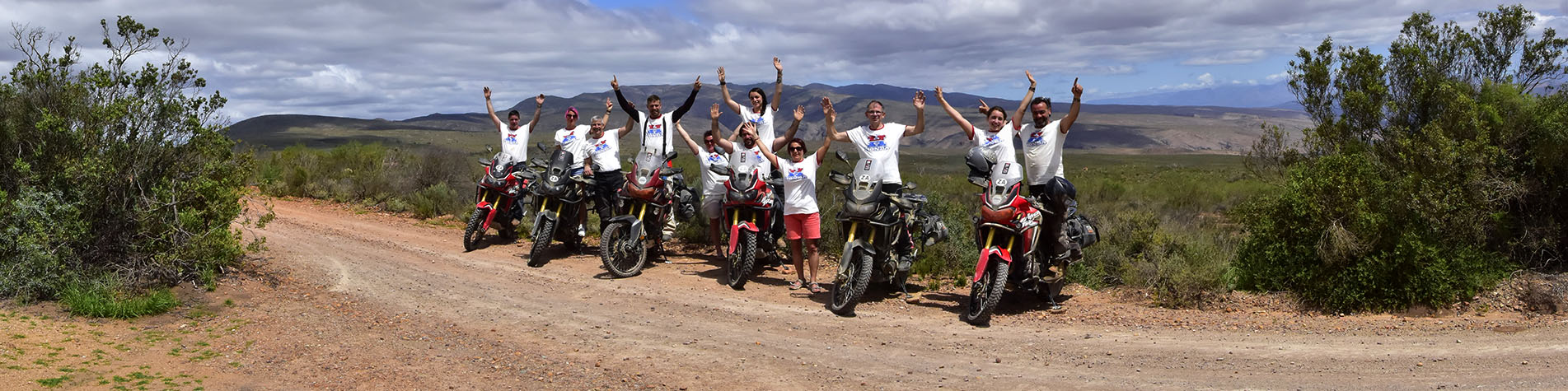 Honda Africa Twin Tours in Cape Town
