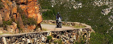 BMW Motorcycle Tours - 4 Day COASTAL & MOUNTAIN ADVENTURE - 70% GRAVEL