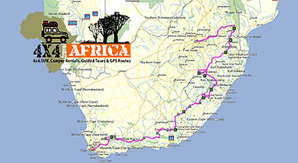 Self Drive 4x4 Cape Town to Johannesburg