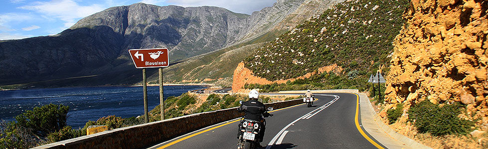 Guided & GPS Motorcycle Tours in Cape Town