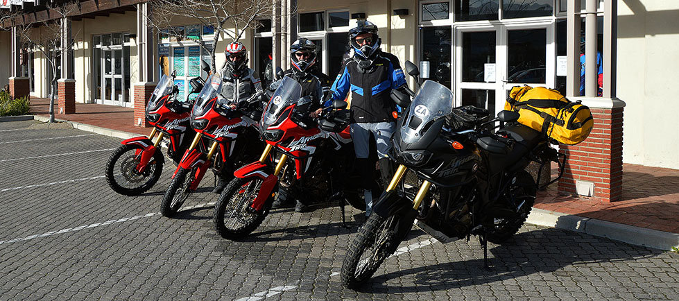 Honda CRF 1000 L Africa Twin and CRF 250 Rally Tours