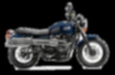 Cheap Triumph Scrambler Motorcycle Hire in Cape Town