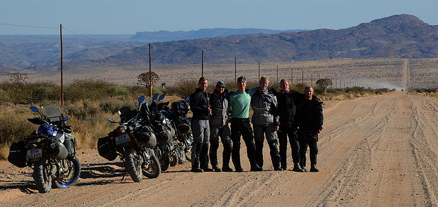 Guided & GPS Motorcycle Tours of Namibia