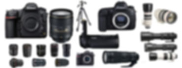 Professional Photographic Equipment for hire