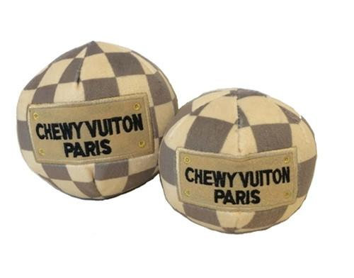 Checker Chewy Vuiton Ball
