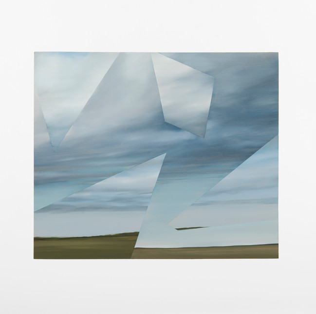 Two Cloudscapes,2014