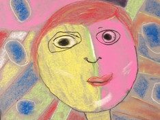 Matisse inspired portrait