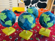 Papier Mache Globes