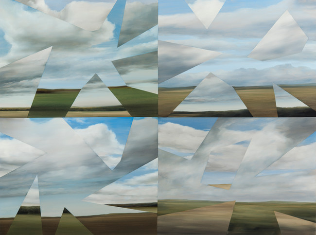 Eight Cloudscapes,2015