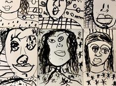 Ink Portraits