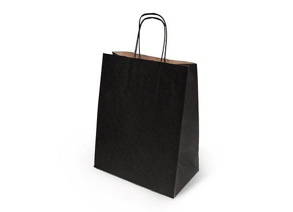 Копия Бумажный пакет с кручеными ручками, 260*140*350 мм