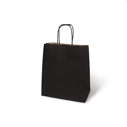 Бумажный пакет с кручеными ручками, 240*140*280 мм