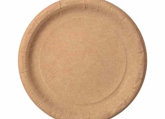 Тарелка бумажная, 230 мм