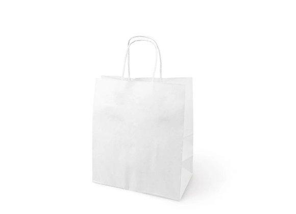 Бумажный пакет с кручеными ручками, 220*120*250 мм