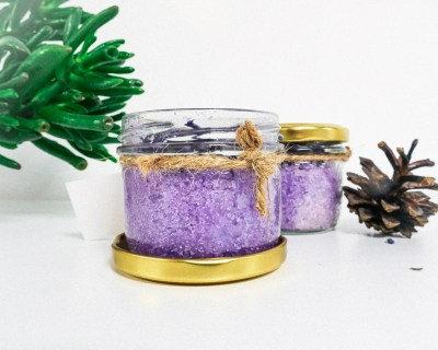 Органическая соль для ванны с лавандой 120мл