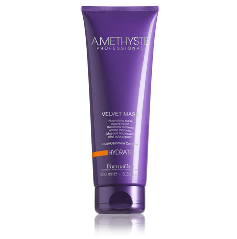 AMETHYSTE Hydrate Velvet Mask - увлажняющая и питательная маска для волос 250мл