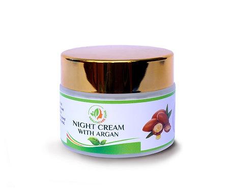 Увлажняющий ночной крем с аргановым маслом 50мл