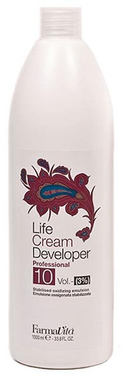 LIFE PROFESSIONAL Oxygen (Cream Developer) 10Vol. (3%) - 1000ml