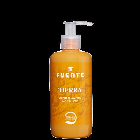 FUENTE «TIERRA».  Питательный и нейтрализующий шампунь, для светлых и пепельных оттенков 250ml