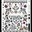 Thumbnail: LIENZO NAVIDAD PARED PARA PINTAR 8 COLORES