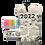 Thumbnail: KIT CALENDARIO CON 8 MARCADORES TEXTILES