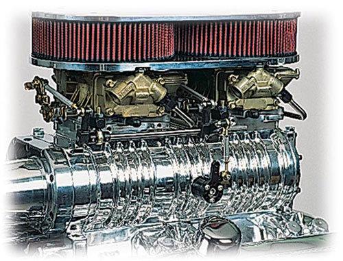 B&M/Holley 250 Roller Bearing Dual Carburetor Kit