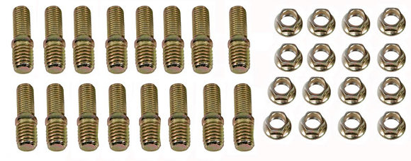 Big Block Chevy Header Stepped Studs Mounting Kit