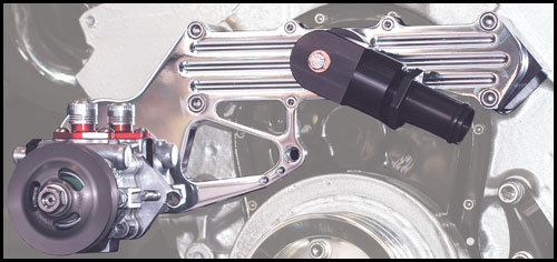 "Crossover Mounted Power Steering System - 1"" NPT D"