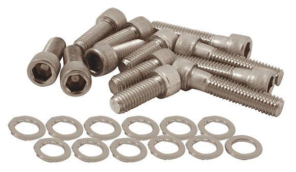 Olds 455 Intake Manifold  Steel Allen Bolt Kit