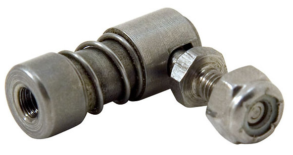 """1/4"""" Cable End Quick Release Ball Joint, Stainless"""