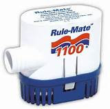 1100A GPH Rule-Mate Automatic Bilge Pump