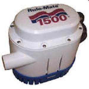 1500 GPH Rule-Mate Automatic Bilge Pump