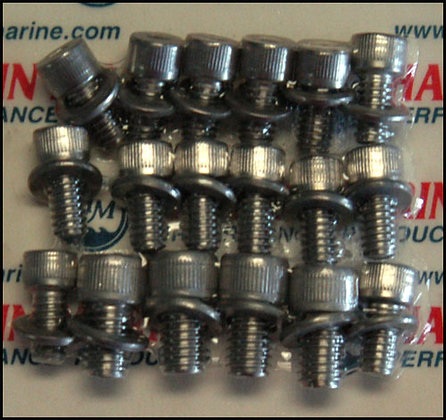 Stainless Steel Bolt Kits - S/B Chevy Oil Pan Bolt